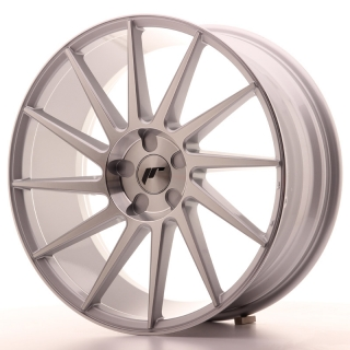 JR22 8,5x20 5x130 ET20-40 SILVER MACHINED