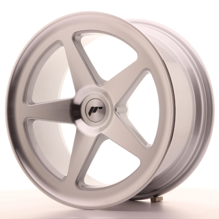 JR24 8,5x18 5x110 ET25-32 SILVER MACHINED