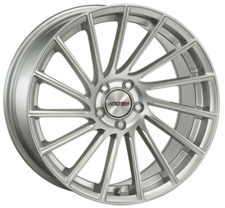 MOTEC TORNADO 9x21 5x112 ET45 HIGH GLOSS SILVER