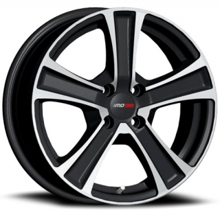 MOTEC COOL 7,5x17 5x108 ET45 BLACK POLISHED