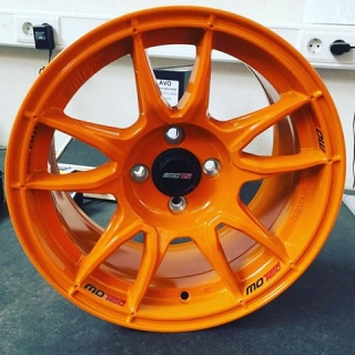 MOTEC MCR1 NITRO 8x15 4x100 ET20 57,1 ORANGE