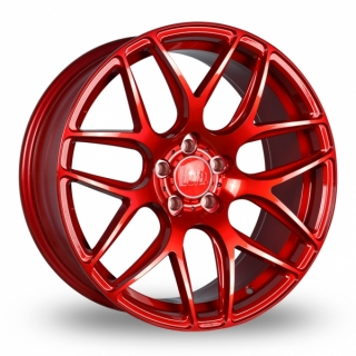 BOLA B8R 8,5x18 5x114,3 ET25-40 CANDY RED