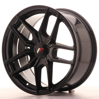 JR25 8,5x18 5H BLANK ET20-40 GLOSS BLACK