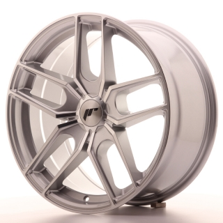 JR25 8,5x18 5H BLANK ET20-40 SILVER MACHINED