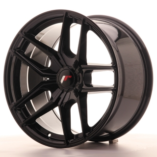 JR25 9,5x18 5H BLANK ET20-40 GLOSS BLACK