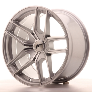 JR25 9,5x18 5H BLANK ET20-40 SILVER MACHINED