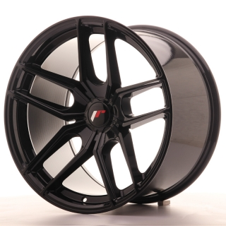 JR25 11x19 5x110 ET20-40 GLOSS BLACK