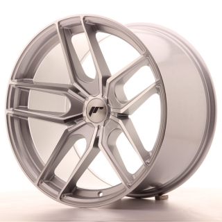 JR25 11x19 5x110 ET20-40 SILVER MACHINED