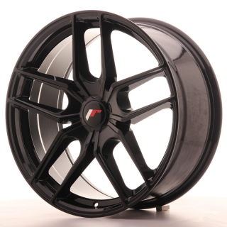 JR25 8,5x19 5H BLANK ET40 GLOSS BLACK