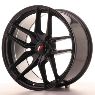 JR25 9,5x19 5x110 ET20-40 GLOSS BLACK