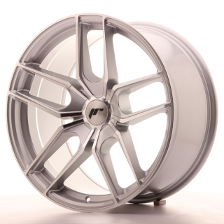 JR25 9,5x19 5H BLANK ET40 SILVER MACHINED
