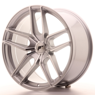 JR25 10x20 5x108 ET40 SILVER MACHINED