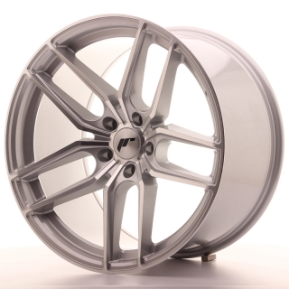 JR25 11x20 5H BLANK ET20-40 SILVER MACHINED