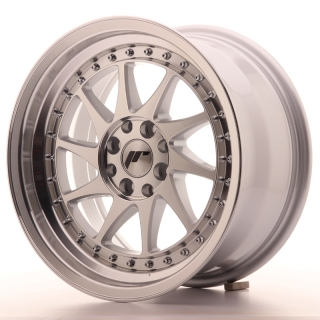 JR26 8x16 4x100/108 ET25 SILVER MACHINED