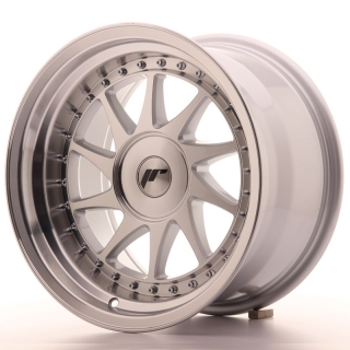 JR26 9x16 4x110 ET0-25 SILVER MACHINED