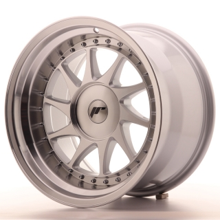 JR26 10x17 4x110 ET0-25 SILVER MACHINED