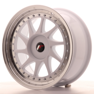 JR26 8x17 5x108 ET20-35 WHITE