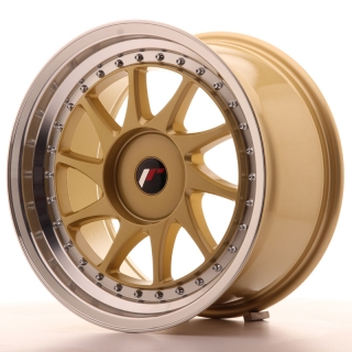 JR26 9x17 5x118 ET20-35 GOLD