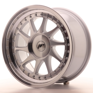 JR26 9x17 BLANK ET20-35 SILVER MACHINED