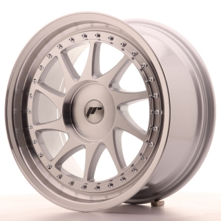 JR26 8,5x18 4x100 ET35-40 SILVER MACHINED