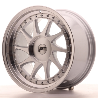 JR26 9,5x18 4x114,3 ET35-40 SILVER MACHINED