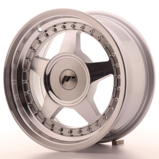 JR6 7x15 5x110 ET20-35 SILVER MACHINED