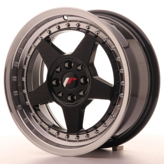 JR6 7x16 4x100/114,3 ET35 GLOSS BLACK