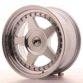 JR6 8x16 5x108 ET10-30 SILVER MACHINED