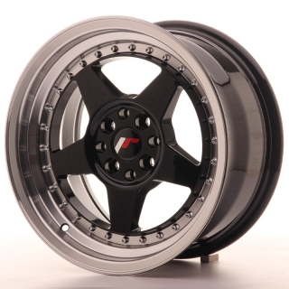 JR6 8x16 4x100/114,3 ET30 GLOSS BLACK
