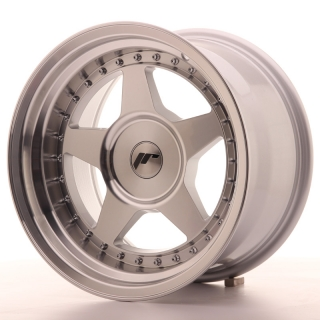 JR6 9x16 5x108 ET0-20 SILVER MACHINED