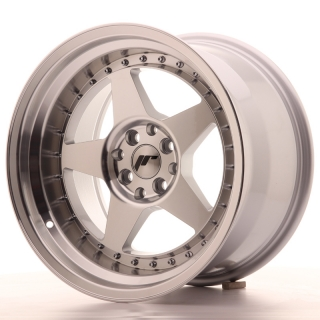 JR6 10x17 4x100/114,3 ET20 SILVER MACHINED