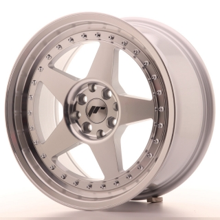 JR6 8x17 4x100/108 ET20 SILVER MACHINED