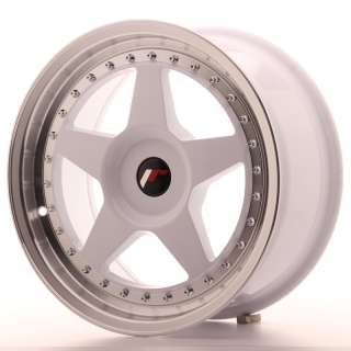 JR6 8x17 4x100 ET20-35 WHITE
