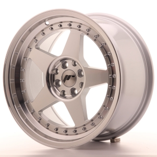 JR6 9x17 4x100/108 ET20 SILVER MACHINED