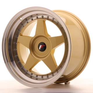 JR6 10,5x18 5x108 ET0-25 GOLD