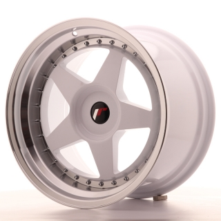 JR6 10,5x18 5x118 ET0-25 WHITE