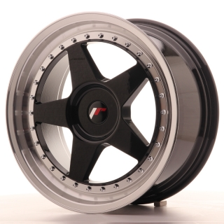 JR6 8,5x18 4x114,3 ET35-40 GLOSS BLACK