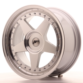 JR6 8,5x18 5x118 ET35-40 SILVER MACHINED