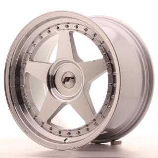 JR6 9,5x18 5x118 ET20-40 SILVER MACHINED