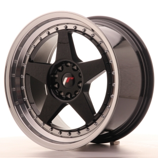 JR6 9,5x18 5x114,3/120 ET22 GLOSS BLACK