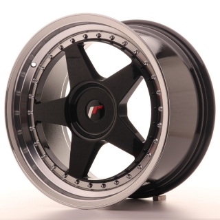 JR6 9,5x18 5x114,3 ET35-40 GLOSS BLACK