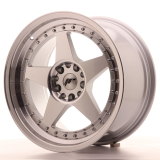 JR6 9,5x18 5x112/114,3 ET40 SILVER MACHINED