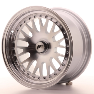JR10 8x15 5x115 ET20 SILVER MACHINED