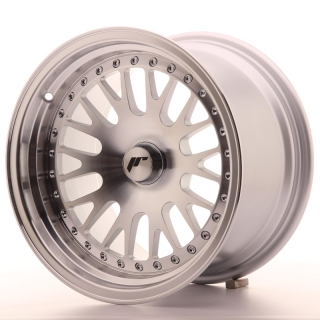 JR10 9x15 4x110 ET20 SILVER MACHINED