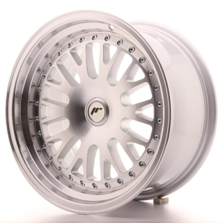 JR10 8x16 5x112 ET20 SILVER MACHINED