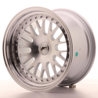 JR10 9x16 4x100 ET20 SILVER MACHINED
