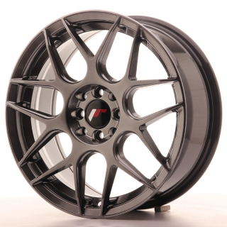 JR18 7x17 4x100/108 ET20 HYPER BLACK