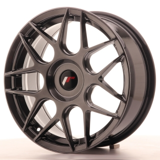 JR18 7x17 5x100 ET20-40 HYPER BLACK