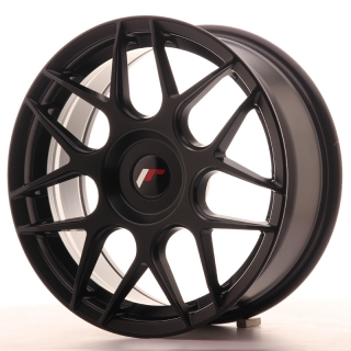 JR18 7x17 5x100 ET20-40 MATT BLACK