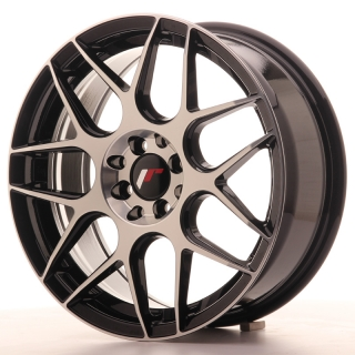 JR18 7x17 4x100/114,3 ET40 BLACK MACHINED